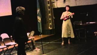 "5 - Amanda Palmer & Neil Gaiman sing ""Making Whoopie"" at Anthony Martignetti"