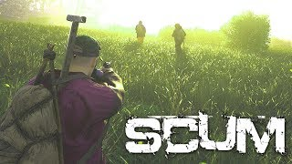 NEW SURVIVAL GAME \\ SCUM LAUNCH DAY \\ NOOB HUNTING
