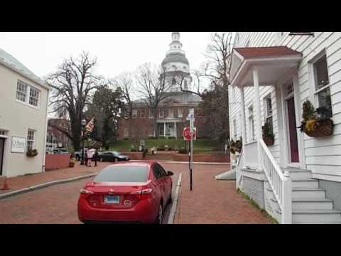 Annapolis Maryland State Capitol - March 28, 1772