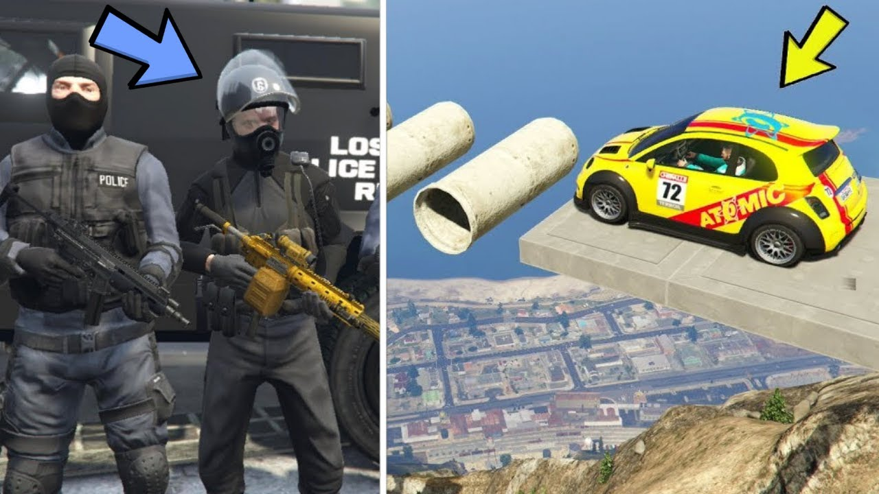 GTA 5 - 9 EPIC Things to do When You're BORED