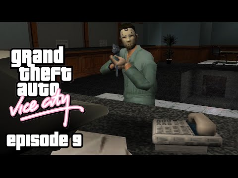 Grand Theft Auto: Vice City - Episode 9 - Assassin, Taxi Driver and a Bank Robber