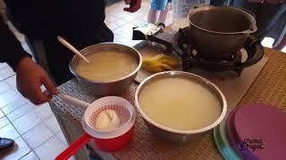 Как делают абхазский сыр