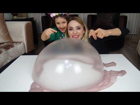Lina İle Kutudan Ne Çıkarsa Slime Challenge | Lina Yine Mızıkçılık Peşinde😂