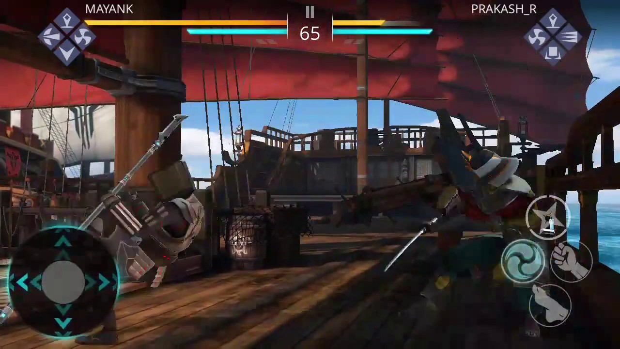 shadow fight 3 dual gameplay android youtube