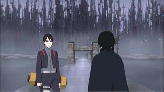 Diskusi sai dan sasuke di amegakure