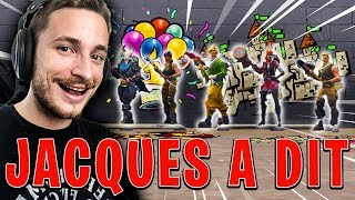JACQUES A DIT version FORTNITE BATTLE ROYALE !!!