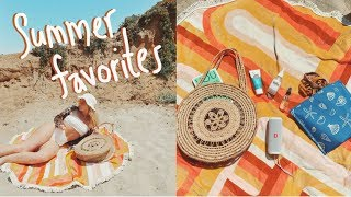 summer essentials - what