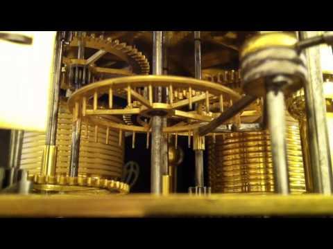 Antique Clocks - Grandfather Clock with Pin Wheel Escapement  -  www.british-antiqueclocks.com