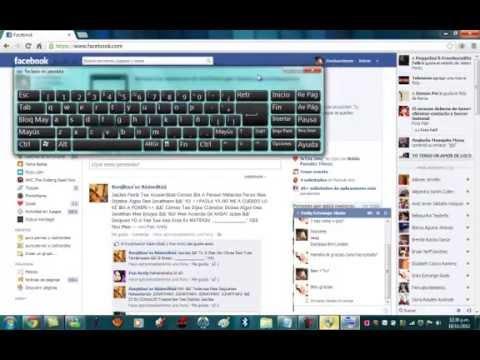 Como tomar foto a conversación de Facebook - YouTube