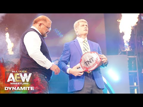 WHAT DOES THE TNT CHAMPIONSHIP MEAN TO CODY? | AEW DYNAMITE 5/27/20, JACKSONVILLE, FL