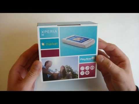 Sony Ericsson XPERIA X8 Unboxing
