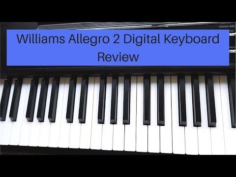 Williams Allegro 2 Plus Digital Keyboard Review