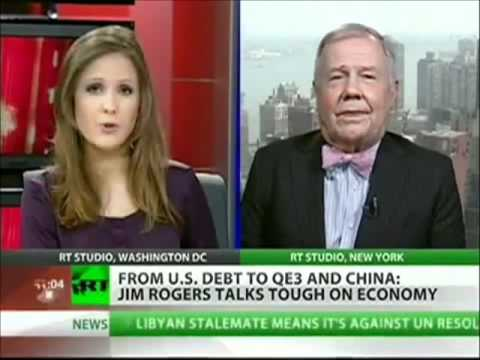 """JIM ROGERS-"""" THE U.S. IS ALREADY BANKRUPT"""""""