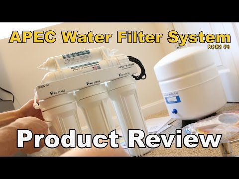 APEC Drinking Water Filter System product review (ROES50)