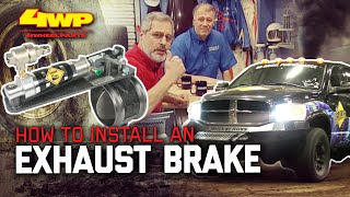 How to Install an Exhaust Brake on a Diesel Pickup with BD Diesel