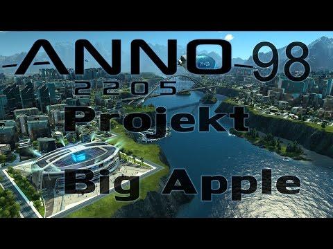 ANNO 2205 Gameplay Projekt Big Apple #98 Let's Play HD Deutsch