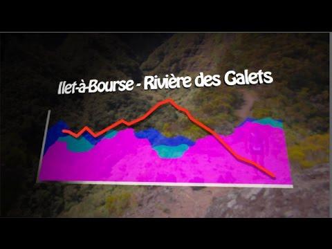 Le parcours du Grand Raid 2016- 4/5 : d'Ilet-à-Bourse à la Rivière des Galets