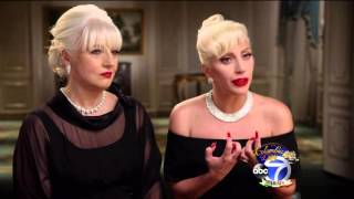 Lady Gaga & Cynthia Germanotta interviewed on ABC7 for CCF Annual Gala Dinner