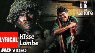 Kisse Lambe Full Lyrical Video Song | Kya Dilli Kya Lahore | Sukhwinder Singh | Gulzar