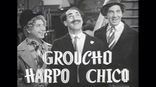 "The Marx Brothers ""The Big Store"" Vintage Movie Trailer (1941)"