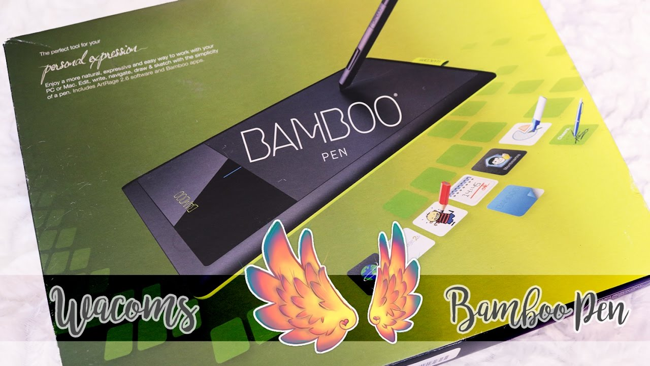 Wacom Bamboo Ctl 470k Review Thoughts Youtube
