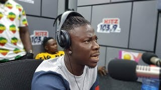 STONEBWOY talks the Nigeria stage disgrace & fires SHATTA WALE hard.