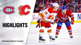 Nhl Highlights | Canadiens @ Flames 12/19/19