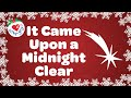 It Came Upon a Midnight Clear with Lyrics | Christmas Carol 2019