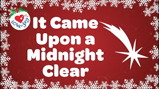 It Came Upon a Midnight Clear with Lyrics | Christmas Carol 2020