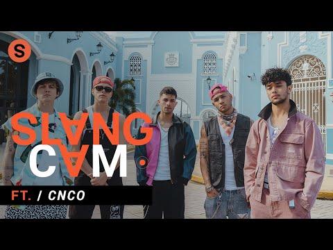 CNCO sobre su junte con Natti Natasha, sus raperos favoritos y cómo pasan la cuarentena | SlangCam