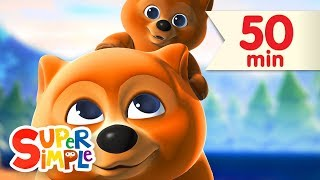 Sweet Dreams + More | Nursery Rhymes & Lullabies | Super Simple Songs(Join Mama Bear, Baby Bear, and all of their forest friends in this sweet and soothing nursery rhyme video collection. Enjoy a few gentle lullabies followed by a ..., 2015-08-08T15:30:00.000Z)
