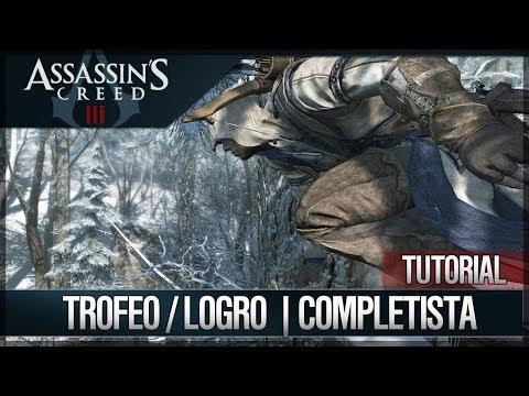 Assassin's Creed 3 - Cómo Completar el 100% del juego - Trofeo / Logro COMPLETISTA