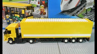 LEGO КамАЗ 5460 из сериала Дальнобойщики 2 сборка