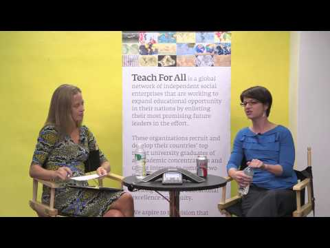 Teach For All Talks: Wendy and Amanda Ripley