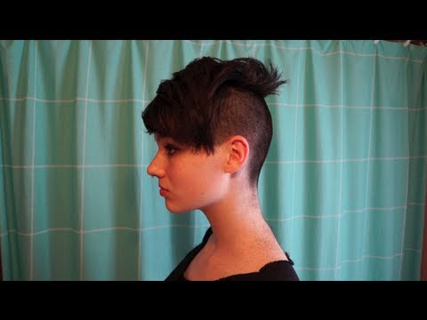 Extreme Undercut Miley Cyrus Robyn Inspired Youtube