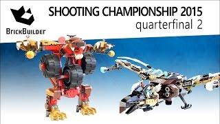 Lego Chima Shooting Championship 2015 - Quarterfinal 02 - Bladvic's Rumble Bear Vs Vultrix's Sky