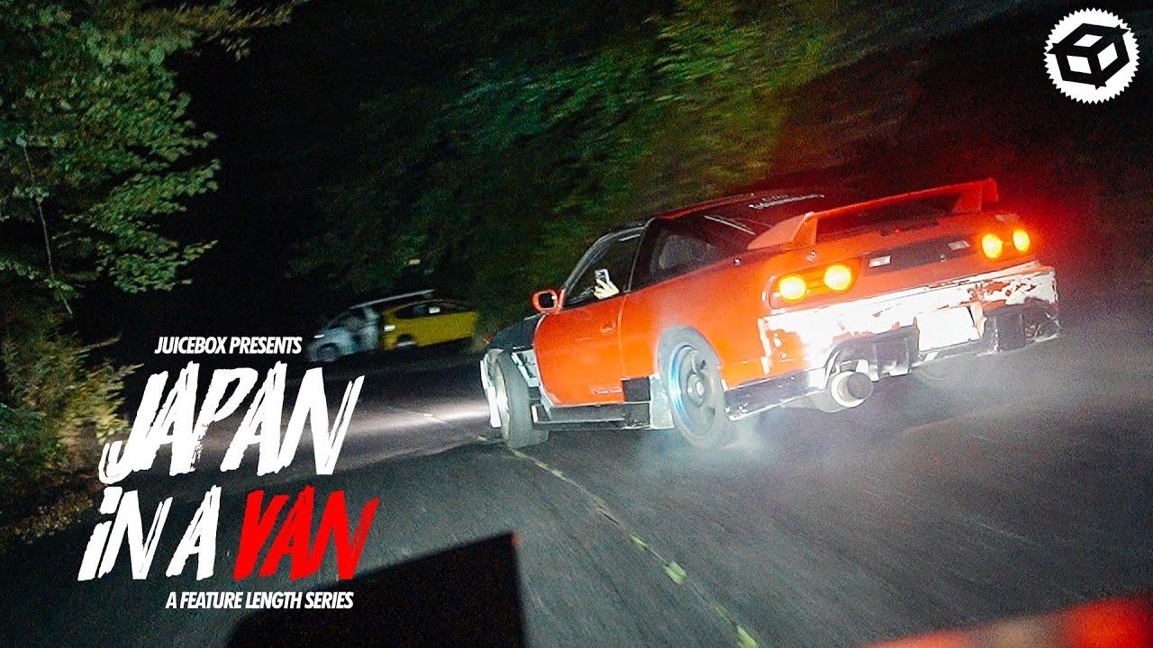 Insane Japanese Touge Drift Meet on Mountain Roads   Japan in a Van Ep. 11
