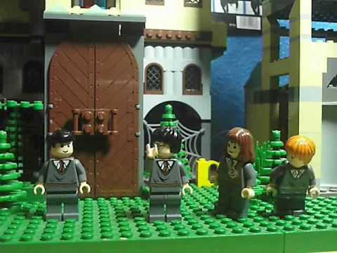 "Harry Potter Lego Pals in ""Wizard Swears"""