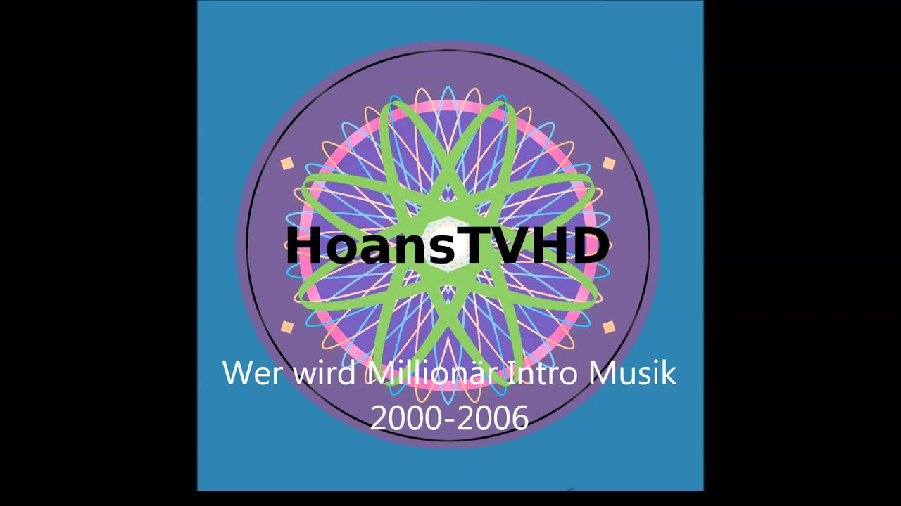 Wer Wird Millionär Intro Musik 2000 2008 Youtube
