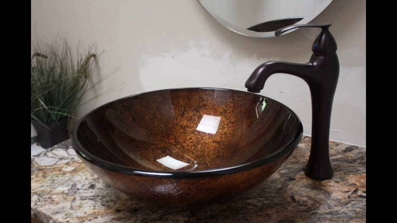 bowl bathroom sinks  YouTube