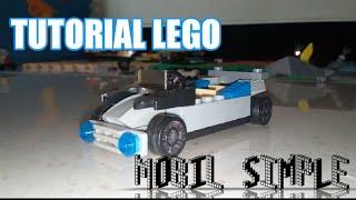 Tutorial membuat mobil simple dari lego