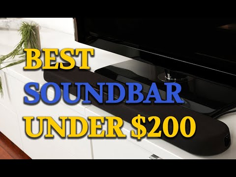 The 5 Best Soundbar Under 200 | TV Sound Bar Reviews - YouTube