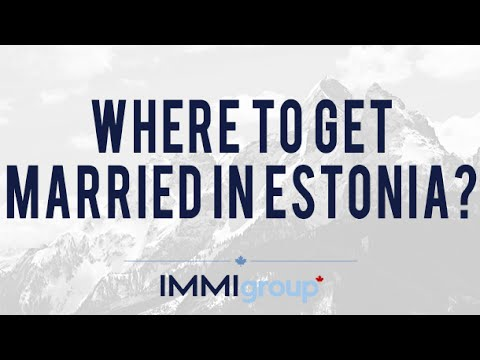 Where to get married in Estonia?