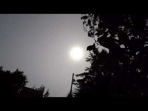 Solar Eclipse Timelapse (750%) from the Oregon Coast