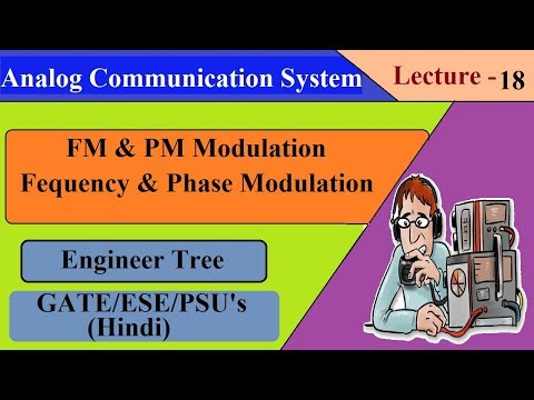Lec.- 18 Angle Modulation | FM And PM Modulation | Communication System For GATE