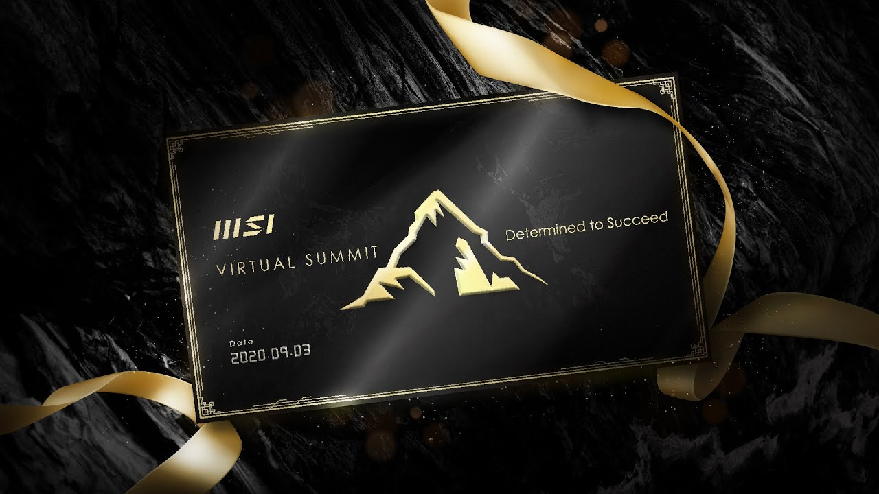 MSI Virtual Summit 2020 | Determined to Succeed