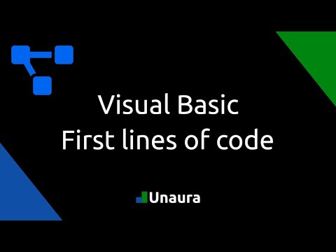 Visual Basic Tutorial 4 - First lines of code