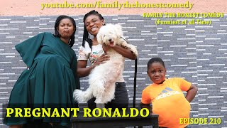 AFRICAN FUNNY VIDEO (Pregnant Ronaldo) (Family The Honest Comedy Episode 210)