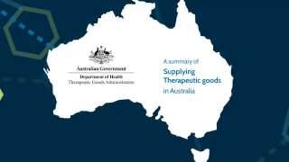 A summary of supplying therapeutic goods in Australia thumbnail
