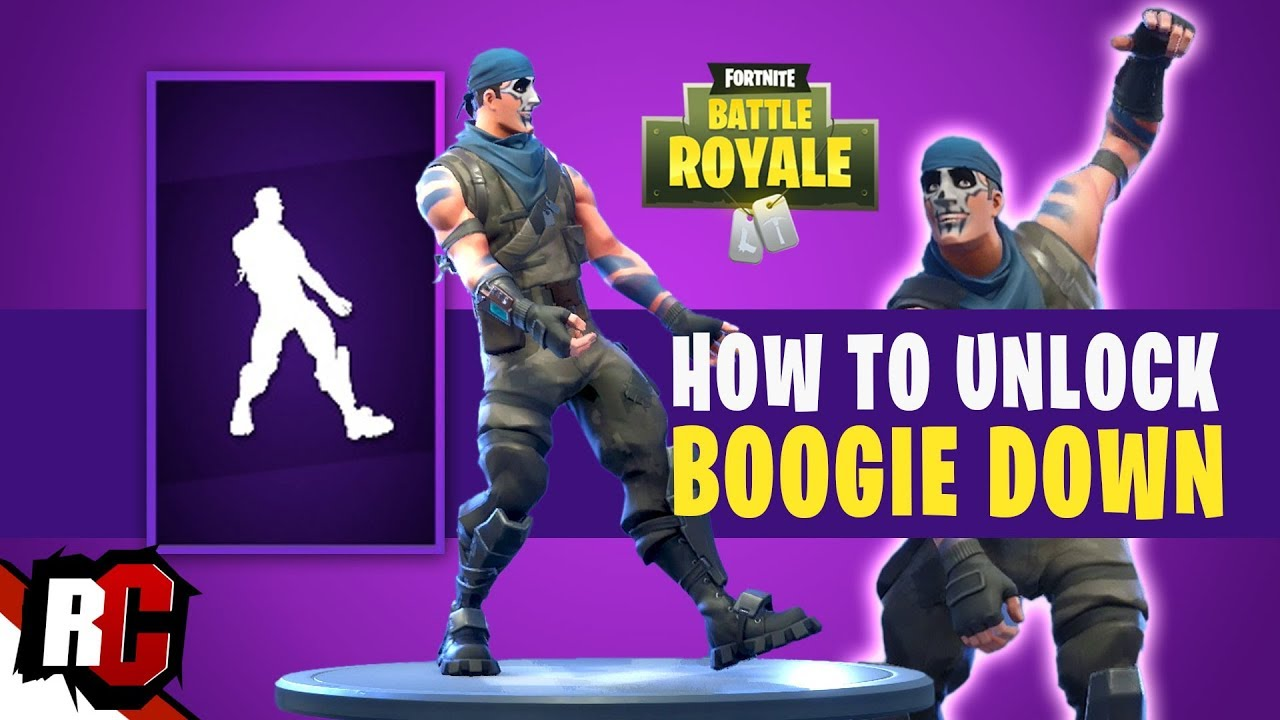 How to Unlock BOOGIE DOWN Dance in Fortnite (Two-Factor ...
